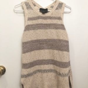 Cynthia Rowley Striped Sleeveless Tank Small